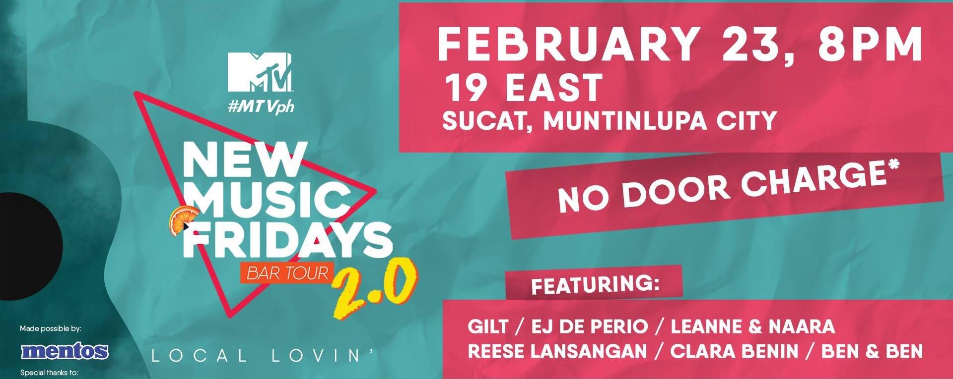 MTV New Music Fridays: #LocalLovin