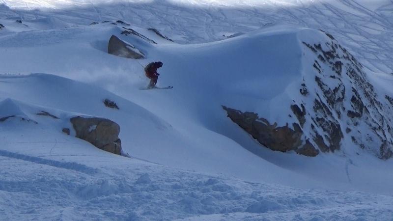 Airing into a fresh chute