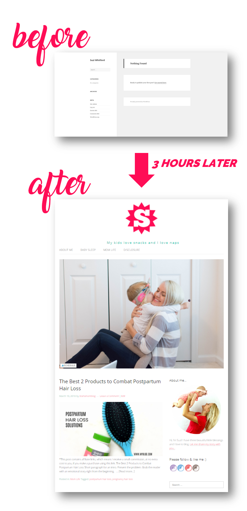 Start a mom blog course startamomblog and you will know how to get traffic to your blog you can accomplish all of this in under 3 hours baditri Image collections