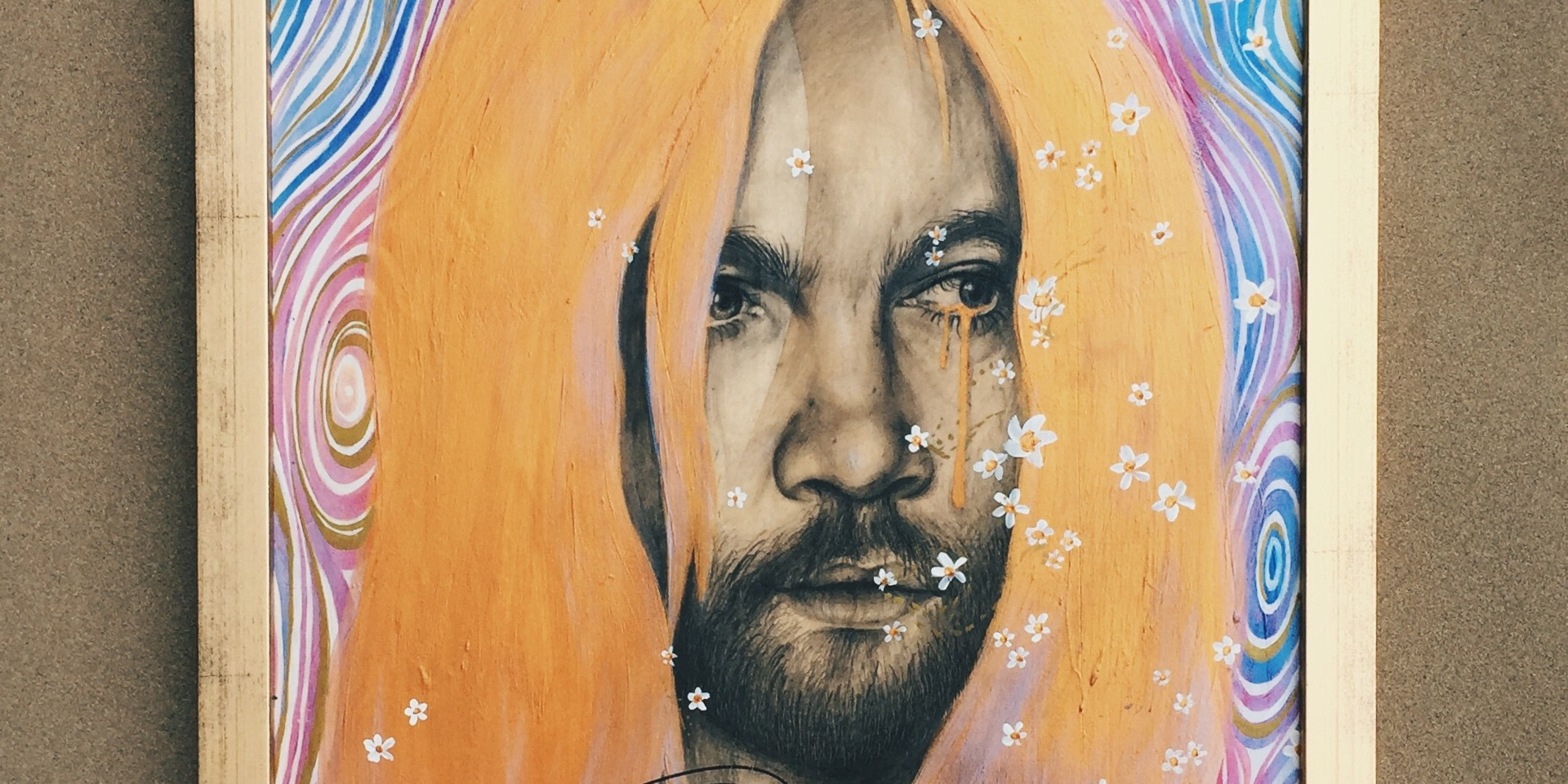 CONTEST: Win a signed portrait of Tame Impala's Kevin Parker by Samantha Rui
