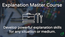 Explanation Master Course