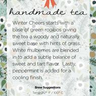 Winter Cheers from Handmade Tea