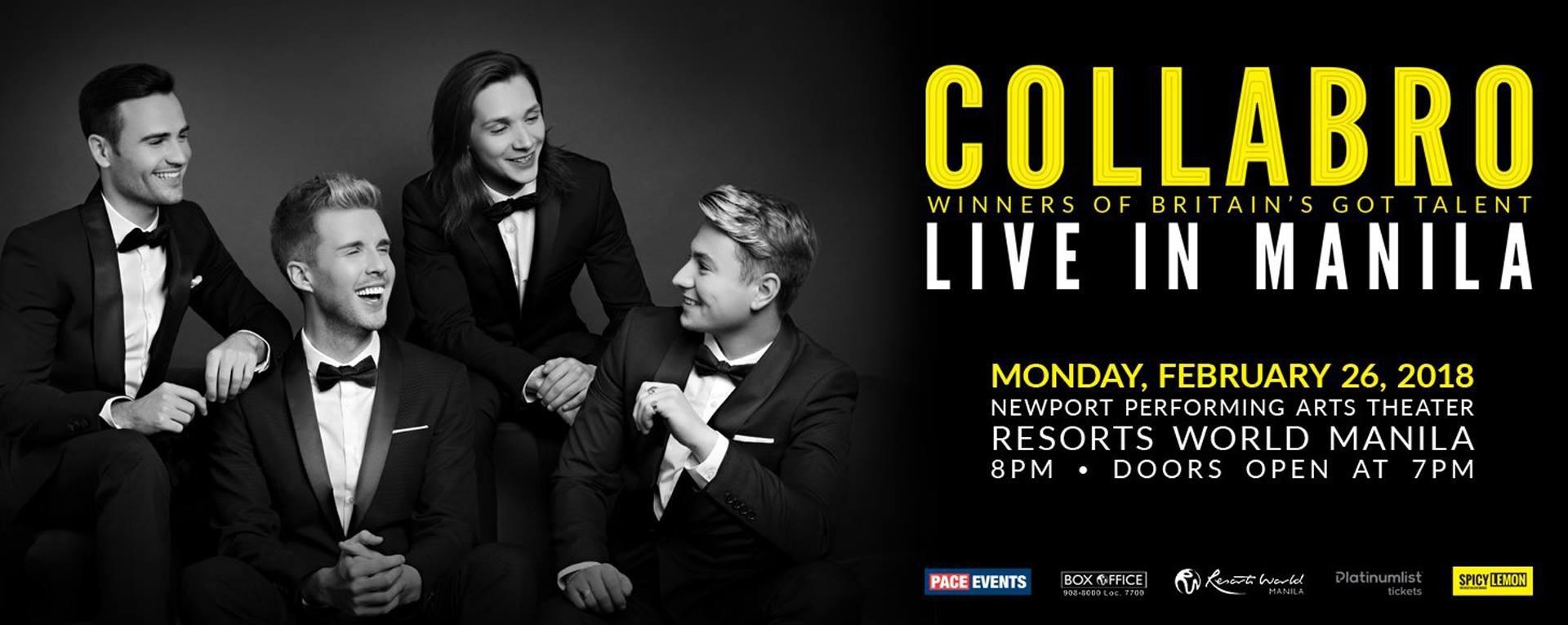 Collabro Live In Manila