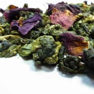 Organic Rose Scented High Mountain Oolong from Mantra Tea