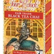 Black Tea Chai from Four O'Clock Organic