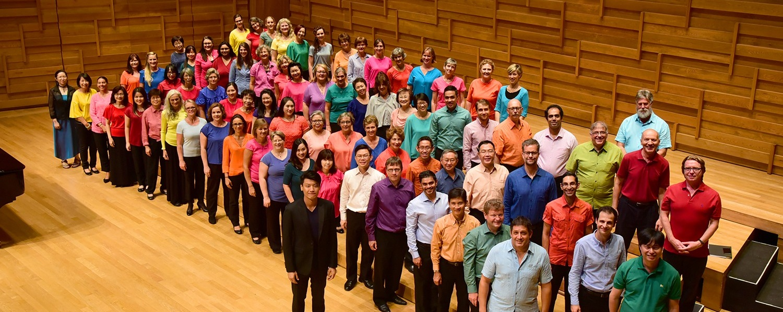 Esplanade Presents: Red Dot August - International Festival Chorus