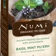 Basil Mint Pu-Erh from Numi Organic Tea
