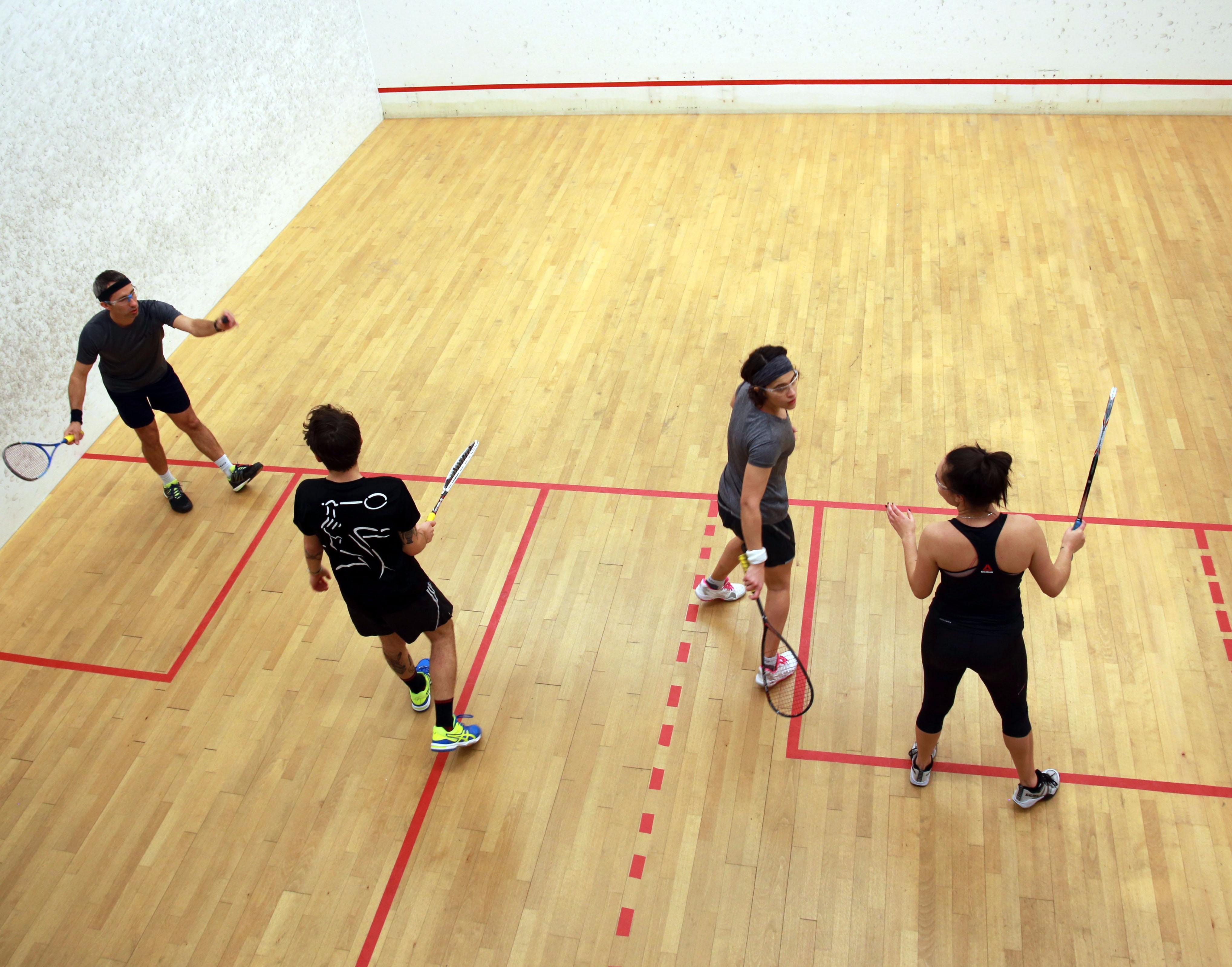 Vic Open Doubles Squash Racquetball Victoria