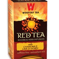 Red Tea with Chamomile, Lime and Honey from Wissotzky Tea