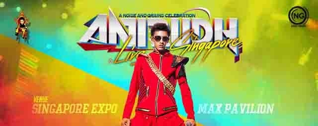 Anirudh Live in Singapore