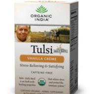 Tulsi Vanilla Creme Tea from Organic India