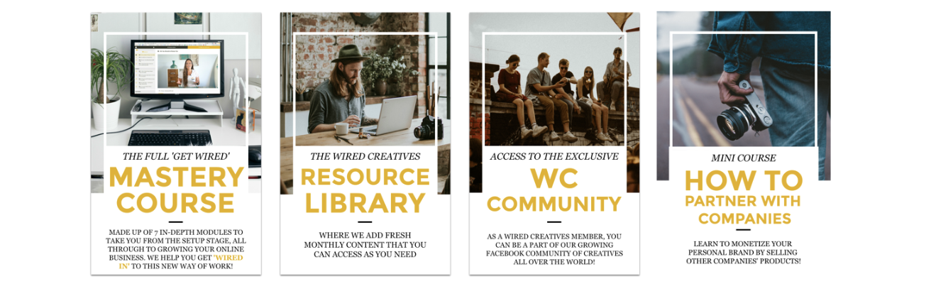Wired Creatives Branding Membership