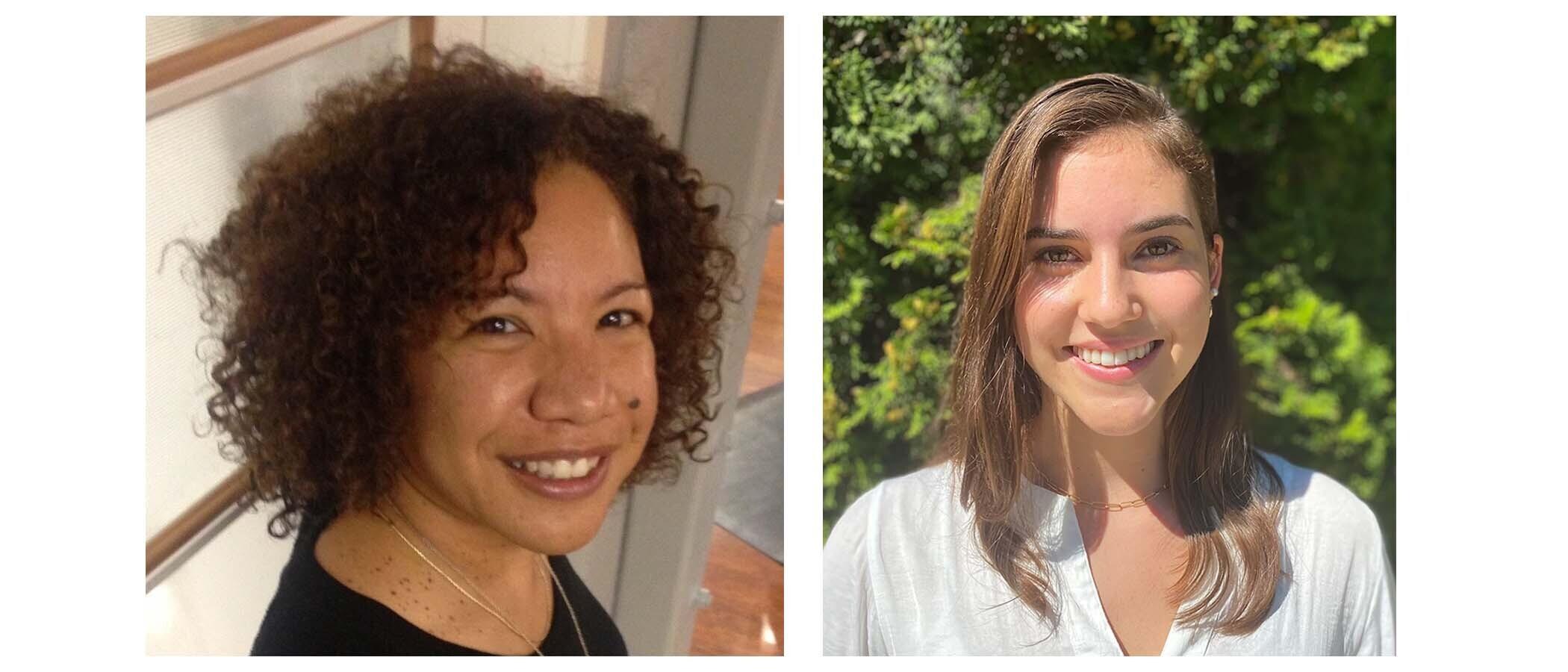 Dr. Criscillia Benford & Celine Bernhardt-Lanier
