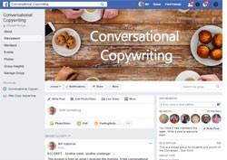 Conversational copywriting Facebook group