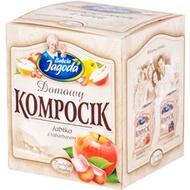 Domowy kompocik Jabłko z rabarbarem  (Apple with Rhubarb compote) from Babcia Jagoda