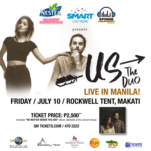 Us the Duo Live in Manila