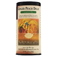 Ginger Peach Decaf from The Republic of Tea