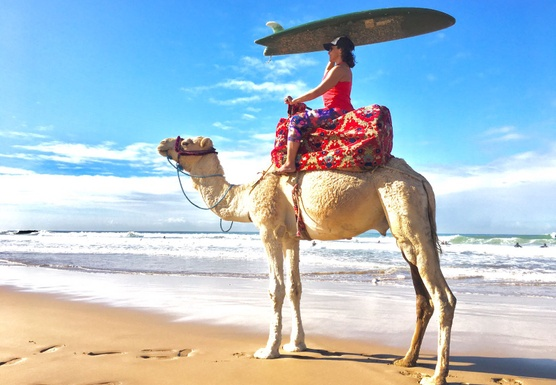 SURF + YOGA MOROCCO with The Rebeccas