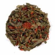 Cherry Sencha from Shanti Tea