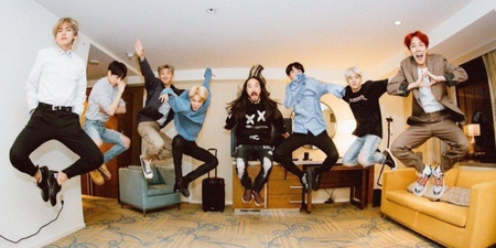 Steve Aoki releases new track 'Waste It On Me' with BTS, sung entirely in English – listen