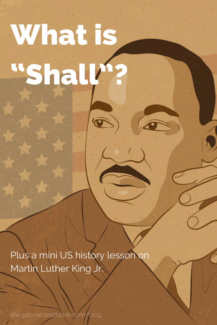 She gets me what is shall plus a mini us history lesson on martin martin luther king jr ibookread Read Online
