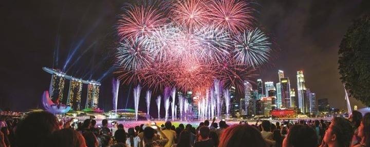 Marina Bay Countdown 2018