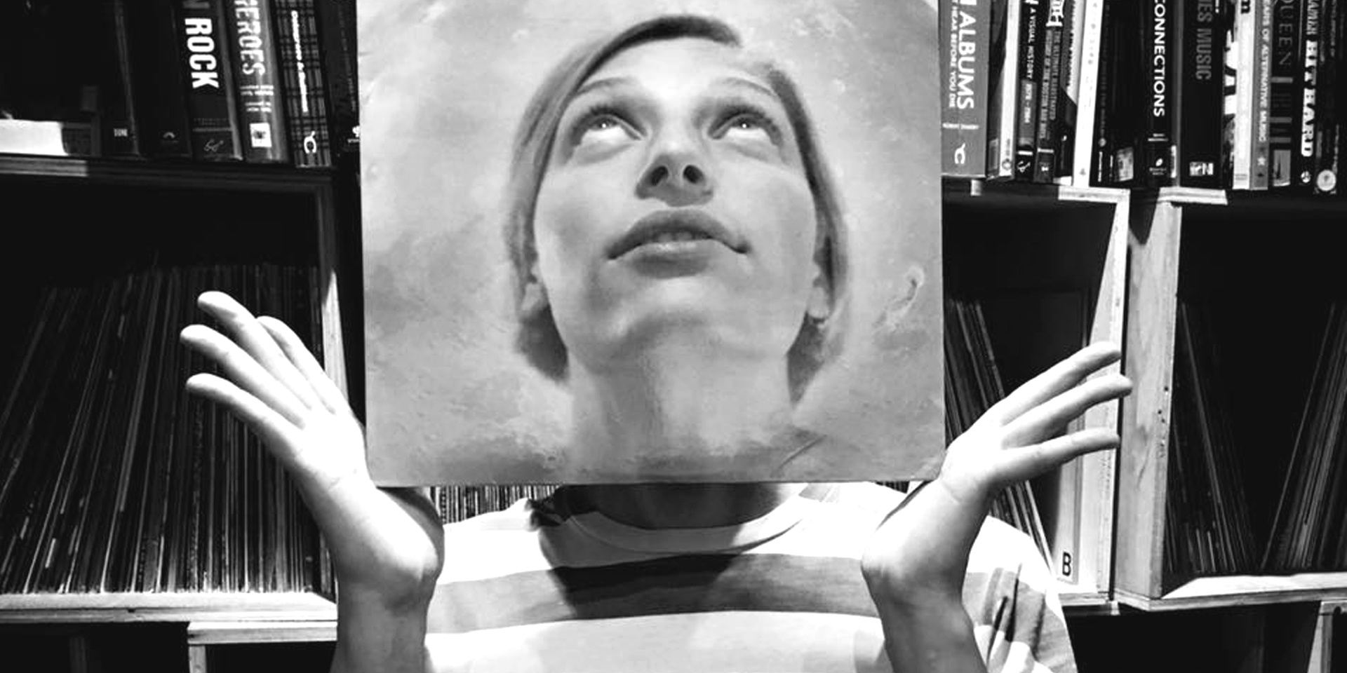 "Singaporean DJ KiDG brings vinyl record covers to life through ""sleevefaces"""