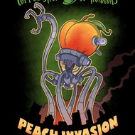 Peach Invasion from Coffee Shop of Horrors