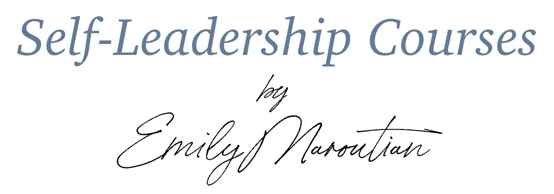 self leadership courses by Emily Maroutian