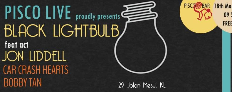 Pisco Live 3.09 with Black Lightbulb