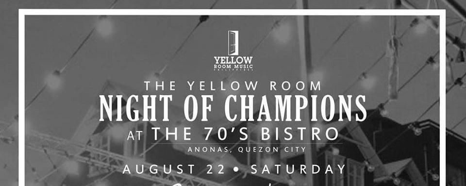 The Yellow Room: Night of Champions