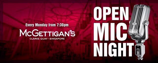 Open Mic Night @ McGettigan's