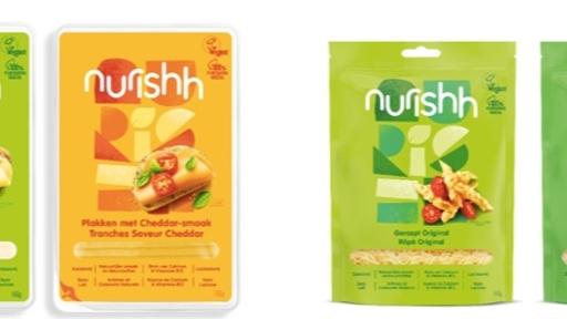 Nurishh: een nieuw plantaardig merk in het kaasschap