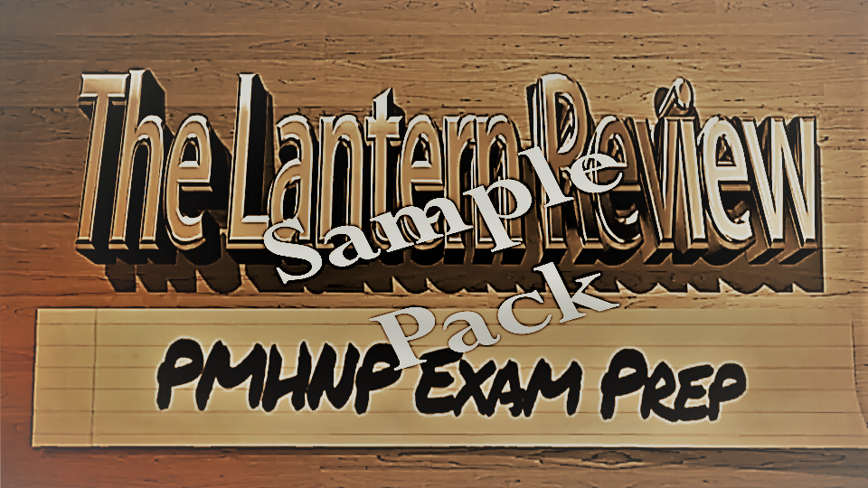 The Lantern Review Sample PAck | The Lantern Review: PMHNP Exam Prep