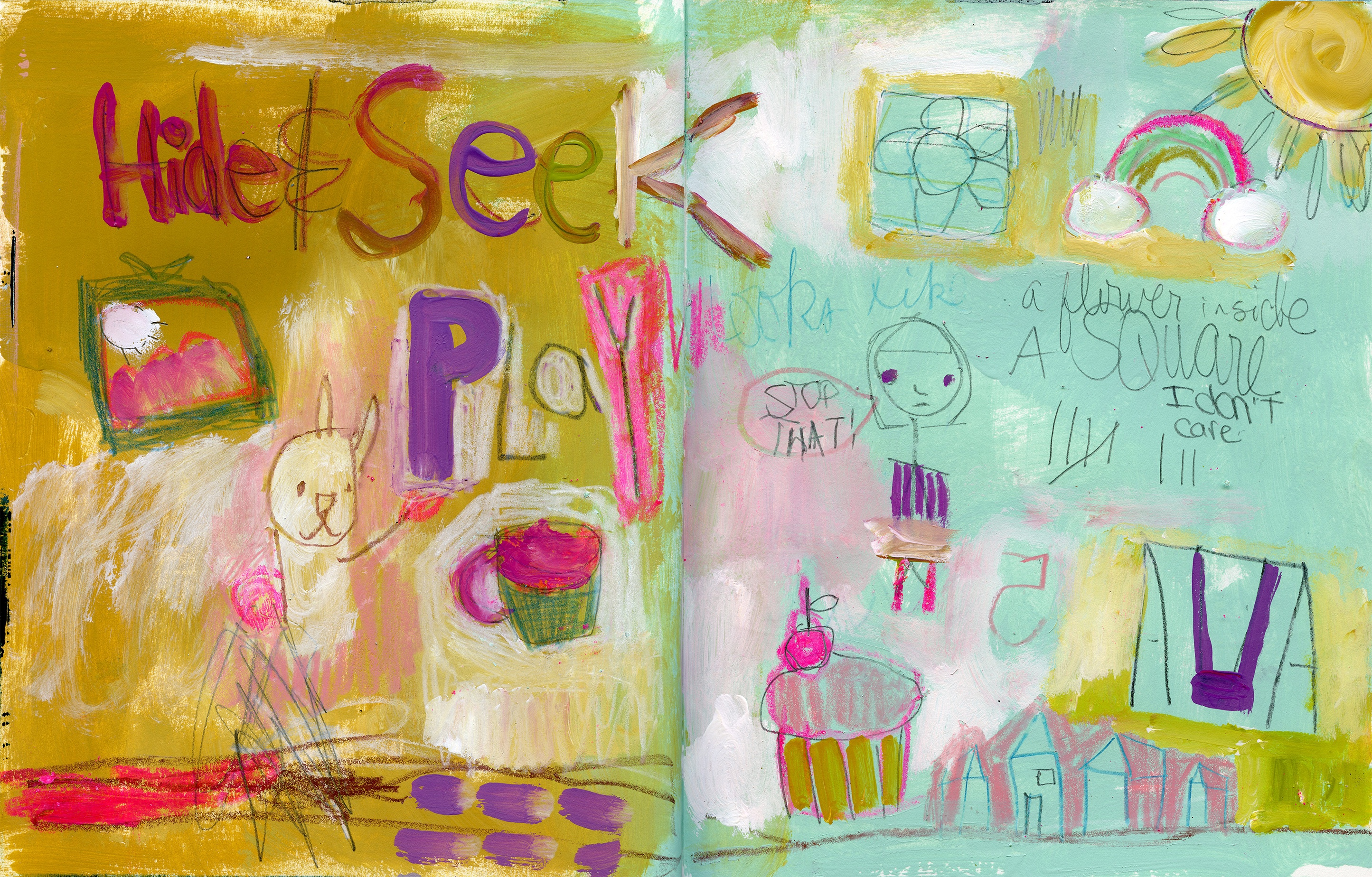 Sign Up for Paint Like a Child SELF WORK