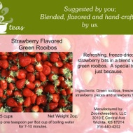 Strawberry Flavored Green Rooibos from 52teas