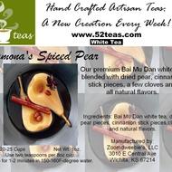 Ramona's Spiced Pear Bai Mu Dan from 52teas