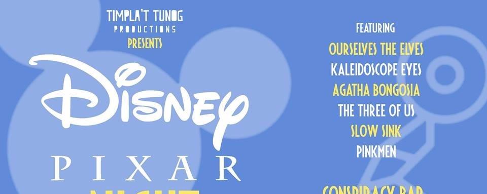 Timpla't Tunog: Disney x Pixar Night