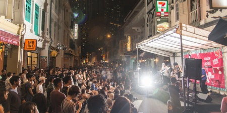 Urban Ventures will take over the streets of Keong Saik with live music, beer yoga, and more