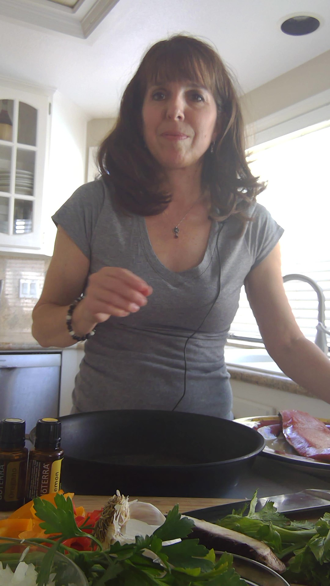 Michele Arnold cooking