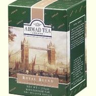 Royal Blend (with Earl Grey) from Ahmad Tea