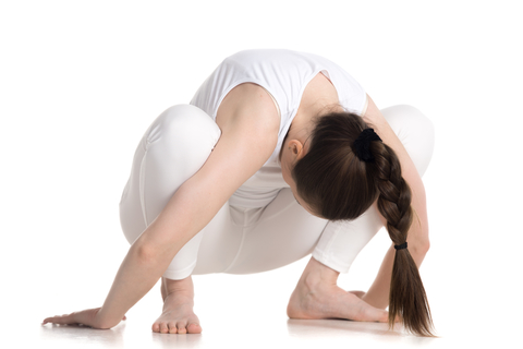 Yin Squat Yoga Pose