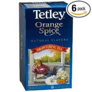 Orange Spice Tea from Tetley