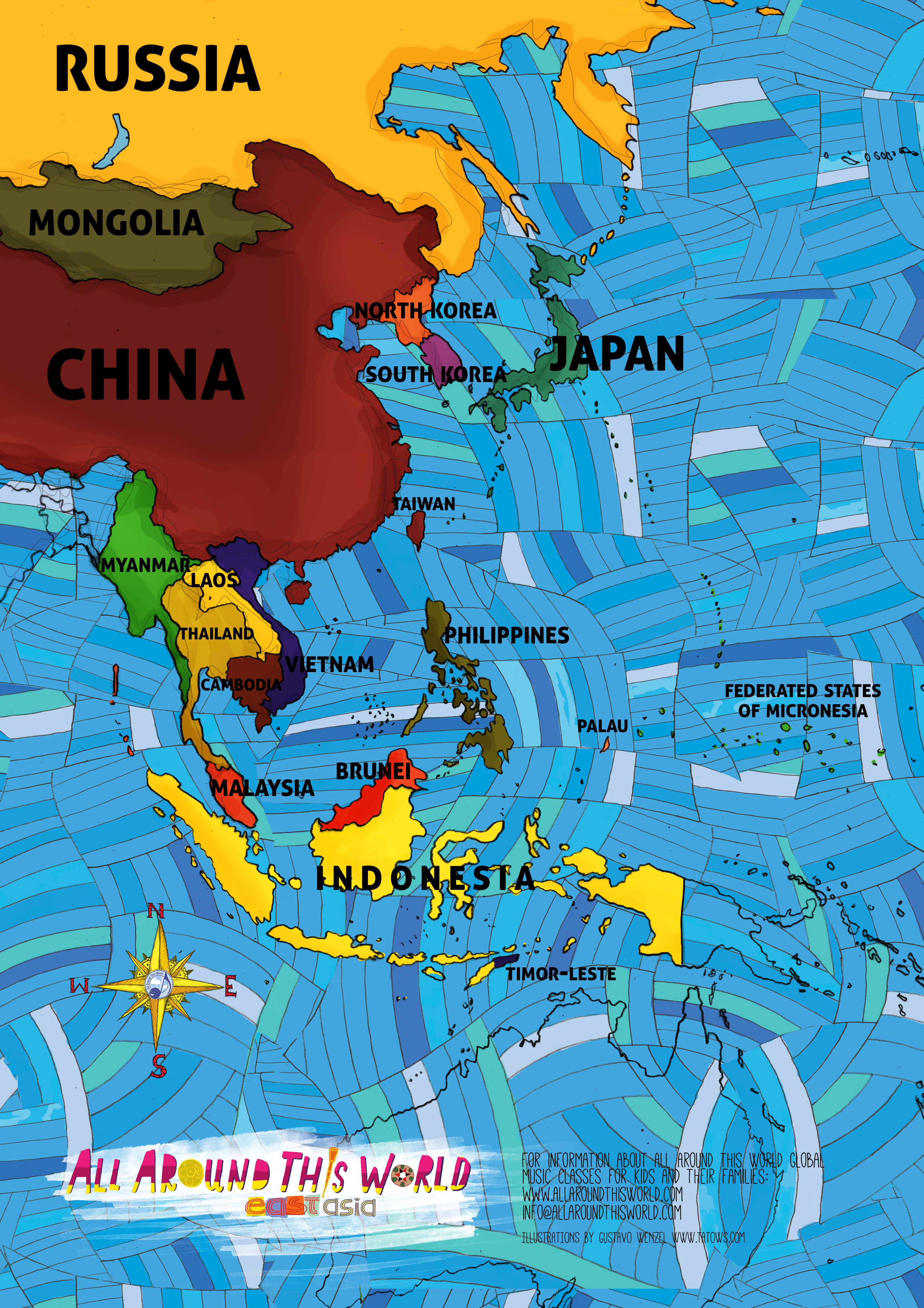 All Around This World East and Southeast Asia
