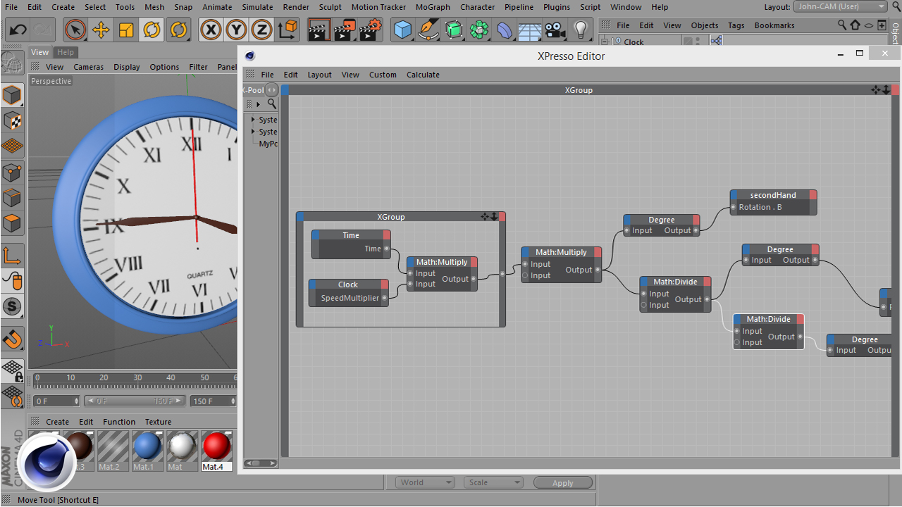 CINEMA 4D XPresso Nodes Reference Library | Padexi Academy