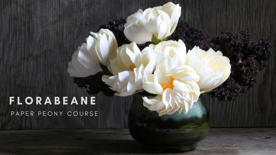 Enroll in Florabeane Paper Peony Course
