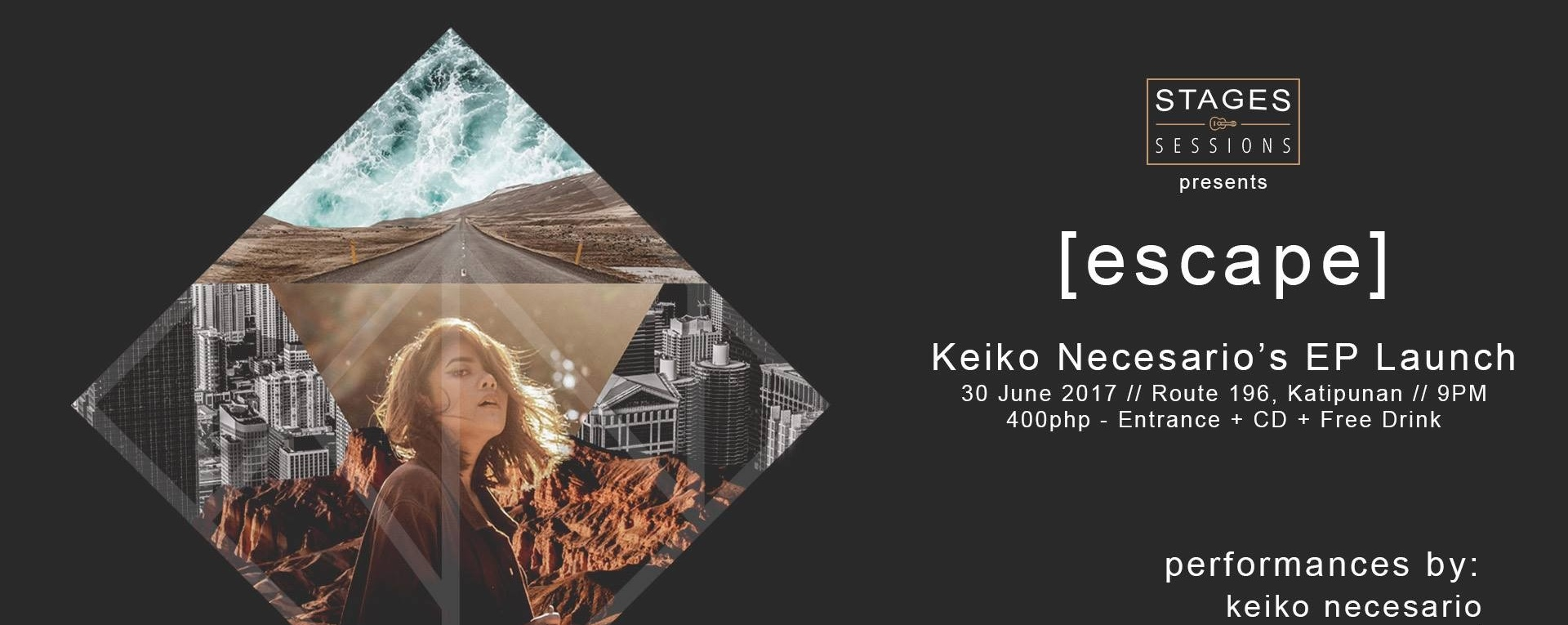 Stages Sessions presents: [escape] Keiko Necesario's EP Launch