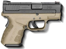 Springfield Armory Springfield Armory XD-9 Mod.2 Sub Compact 9mm Luger