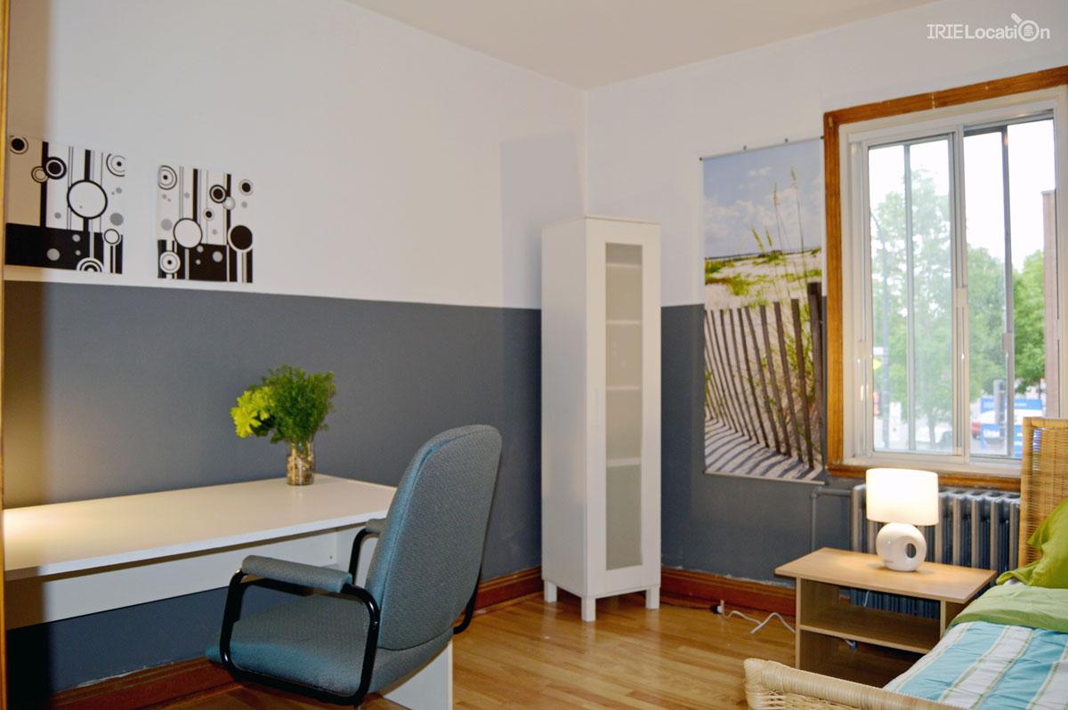 Fabuleux bureau disponible dans une chambre étudiante à louer