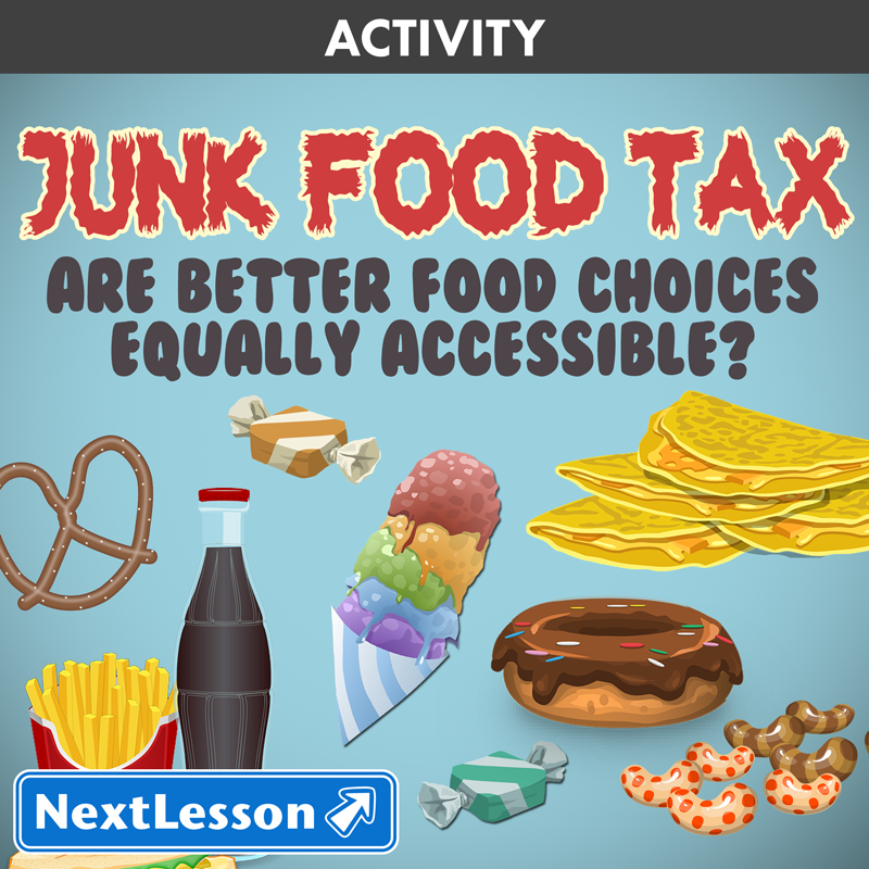 essay on taxing junk food
